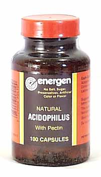Energen Acidophilus with Pectin - 100 caps
