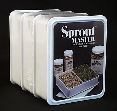 Sprout Master Mini Triple Sprouter - 1 set