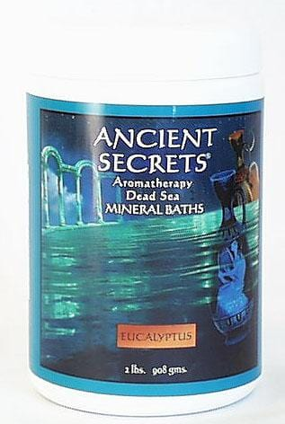 Ancient Secrets Eucalyptus Aromatherapy Bath Salts - 2 lbs.