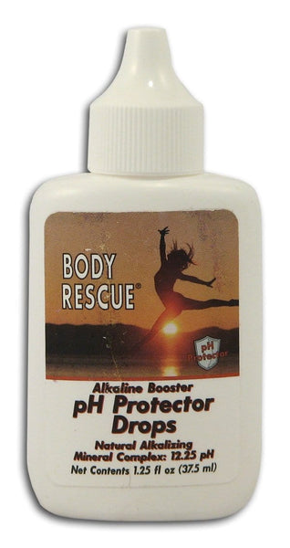 Body Rescue Alkaline Booster pH Protector Drops - 1.25 ozs.
