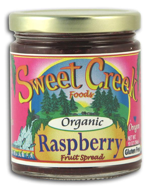 Sweet Creek Foods Raspberry Fruit Spread Organic - 10 ozs.