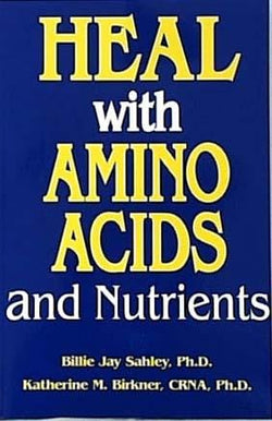 Pain & Stress Center Heal with Amino Acids - 1 book