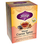 Yogi Tea Herbal Teas Mayan Cocoa Spice 16 ct