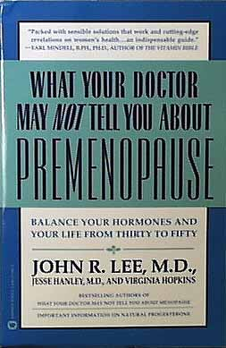 Books @What Your Dr. May Not Tell About Premenopause - 1 book