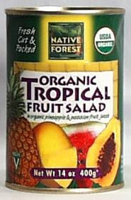 Native Forest Tropical Fruit Salad Organic - 14 ozs.