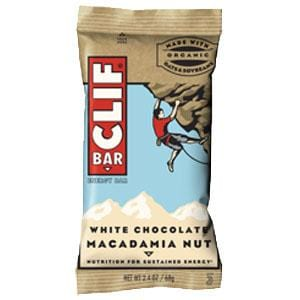 Clif Bar White Chocolate Macadamia Nut Bar - 12 x 2.4 ozs.