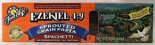 Food For Life Ezekiel 4:9 Spaghetti Organic - 16 ozs.