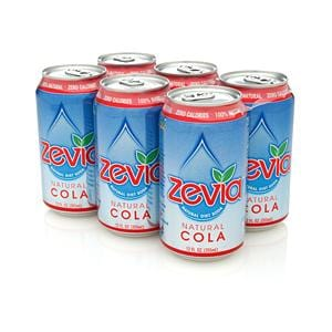 Zevia LLC Cola Diet Soda - 24 x 12 ozs.