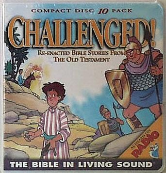 Bible in Living Sound #2 CHALLENGED - 10-CD Wallet