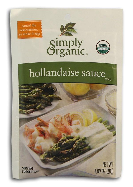 Simply Organic Hollandaise Sauce Mix Organic - 12 x 1 oz.