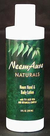 Neem Aura Hand & Body Lotion with Aloe Vera - 8 ozs.