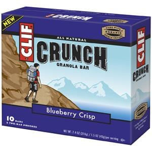 Clif Bar Blueberry Crisp Crunch Granola Bars - 7.4 ozs.
