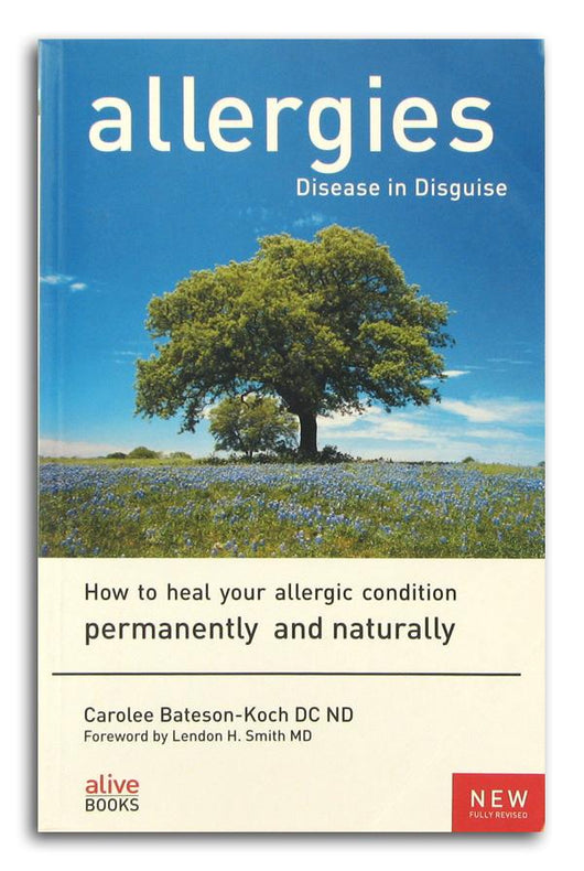 Books Allergies Disease in Disguise - 1 book