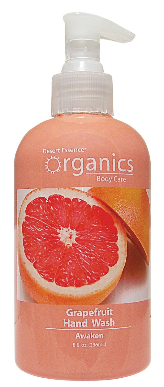Desert Essence Grapefruit Hand Wash Awaken Organic - 8 ozs.