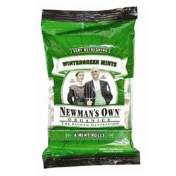 Newman's Own Mints, Wintergreen, Organic - 3 ozs.