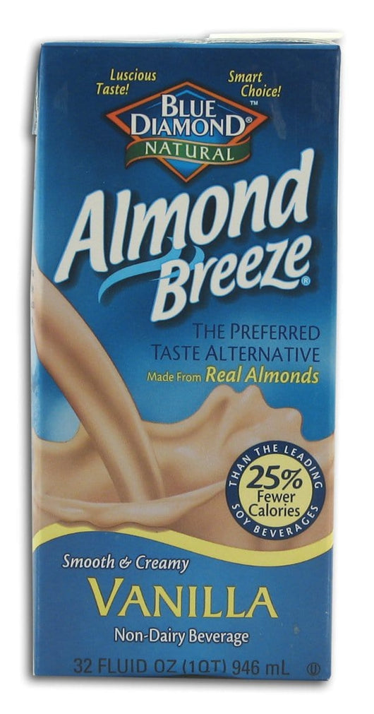 Blue Diamond Almond Breeze Vanilla - 12 x 32 ozs.