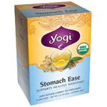 Yogi Tea Herbal Teas Stomach Ease  Organic 16 ct