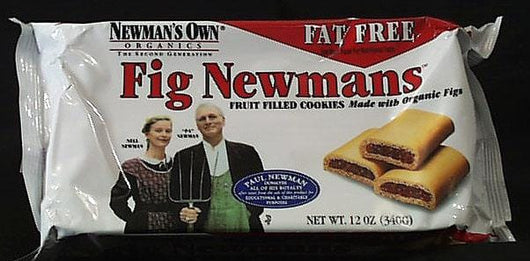 Newman's Own Fig Newmans Fat Free - 6 x 10 ozs.