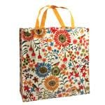 Blue Q Shoppers Flower Field Reusable Tote Bags 16