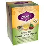 Yogi Tea Green Tea (contains caffeine) Kombucha Decaffeinated 16 ct