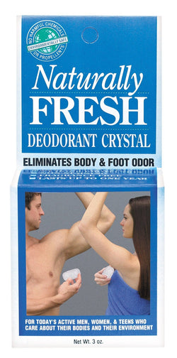 Naturally Fresh Deodorant Crystal - 3 ozs.
