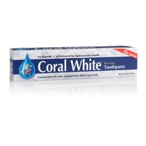 Coral LLC Coral White Toothpaste, Tea Tree - 6 ozs.