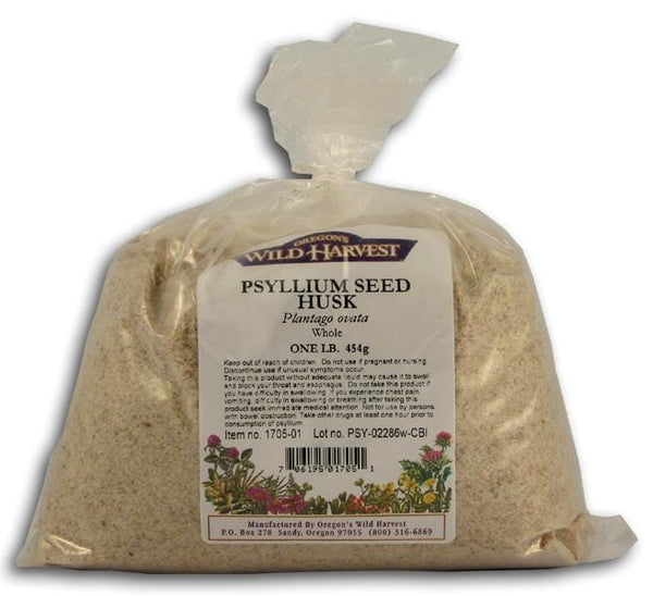 Oregon's Wild Harvest Psyllium Seed Husk Whole - 1 lb.