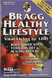 Bragg's Healthy Lifestyle Book - 1 book