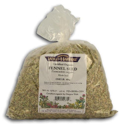 Oregon's Wild Harvest Fennel Seeds Whole Organic - 1 lb.