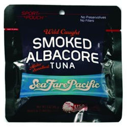 Sea Fare Pacific Albacore Tuna, Smoked - 3 ozs.