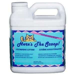 Here's The Scoop Clumping Cat Litter - 10 lbs.