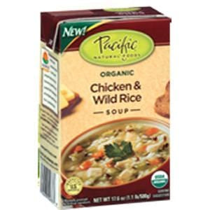 Pacific Foods Chicken & Wild Rice Soup, Organic - 17.6 ozs.