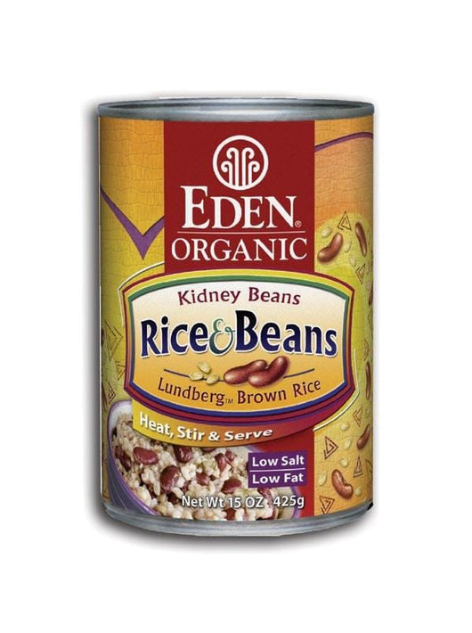 Eden Foods Rice and Kidney Beans Organic - 15 ozs.