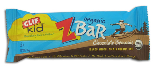 Clif Bar Chocolate Brownie Z Bar Organic - 18 x 1.27 ozs.