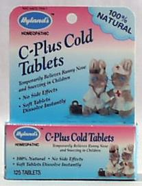 Hyland's Tiny Cold Tablets - 125 tablets