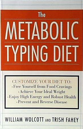 Books Metabolic Typing Diet The - 1 book