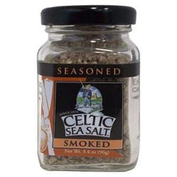 Celtic Sea Salt Salt, Seasoned, Smoked  - 3.4 ozs.