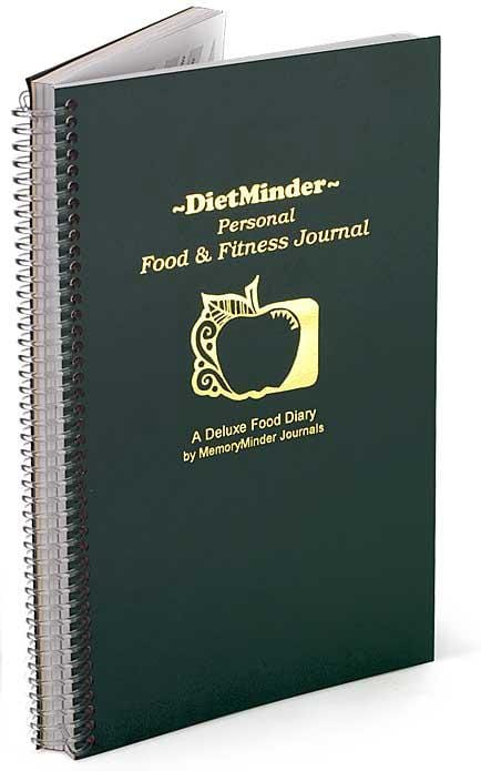 Memory Minder DietMinder Personal Food/Fitness Journal - 1 book