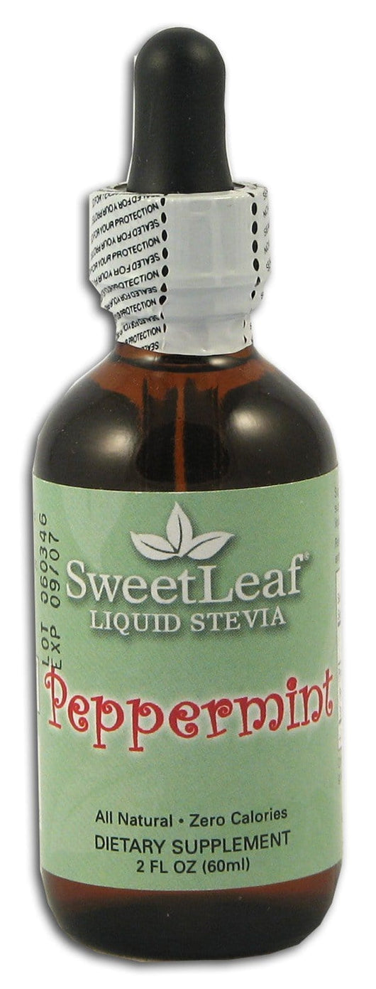 Sweet Leaf Stevia Clear Liquid Peppermint - 2 ozs.