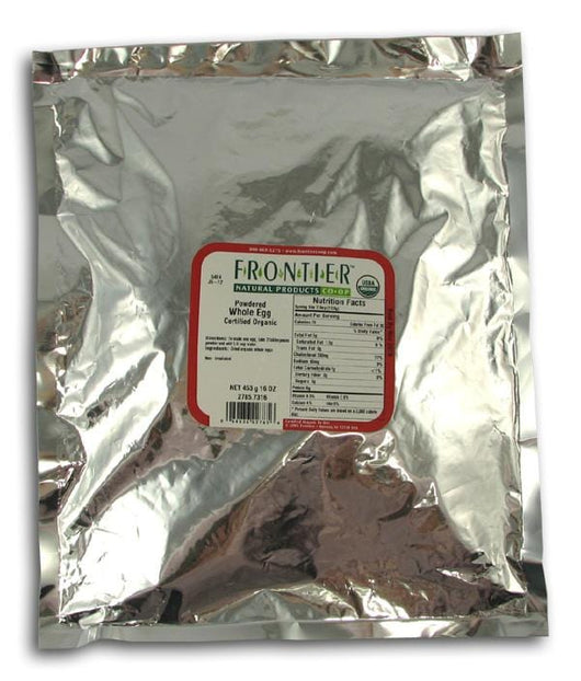 Frontier Whole Egg Powdered Organic - 1 lb.