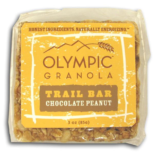Olympic Granola Chocolate Peanut Trail Bar - 3 x 3 ozs.