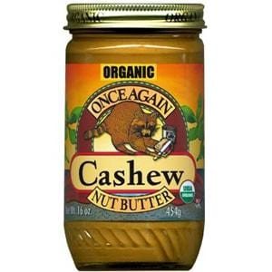 Once Again Nut Butter Inc. Cashew Butter Organic - 12 x 16 ozs.