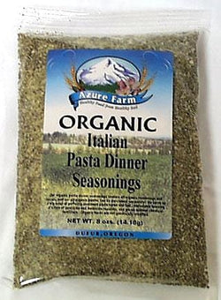 Azure Farm Italian Pasta Dinner Seasoning Organic - 8 ozs.