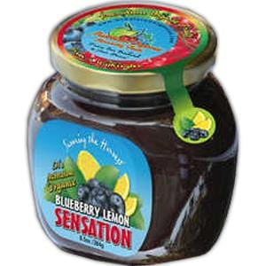 Middleton Organics Blueberry Lemon Sensation, Organic - 12 x 8.5 ozs.