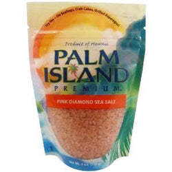 Palm Island Premium Sea Salt, Pink Diamond - 6 x 6 ozs.