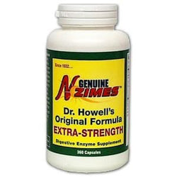 Enzymes Inc. Genuine N-Zimes Original Formula Extra Strength - 360 caps