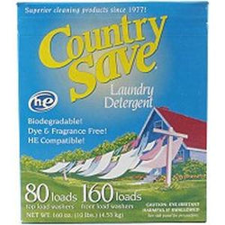 Country Save Laundry Detergent-160 frontloads/80 toploads - 10 lbs.