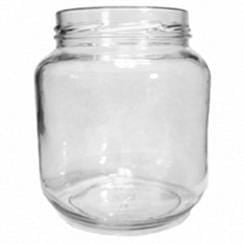 Packaging Supplies Wide Mouth Glass 1/2 Gallon Jars - without lids - Case/6