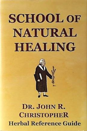 Books School of Natural Healing - 1 book
