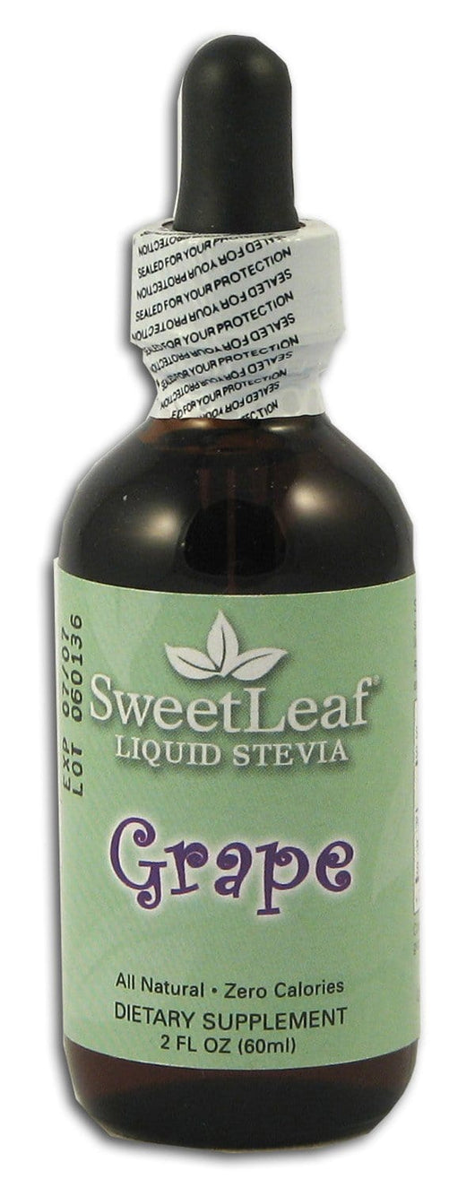 Sweet Leaf Stevia Clear Liquid Grape - 2 ozs.
